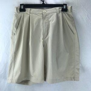 Under Armour Mens Shorts Tan Beige 32